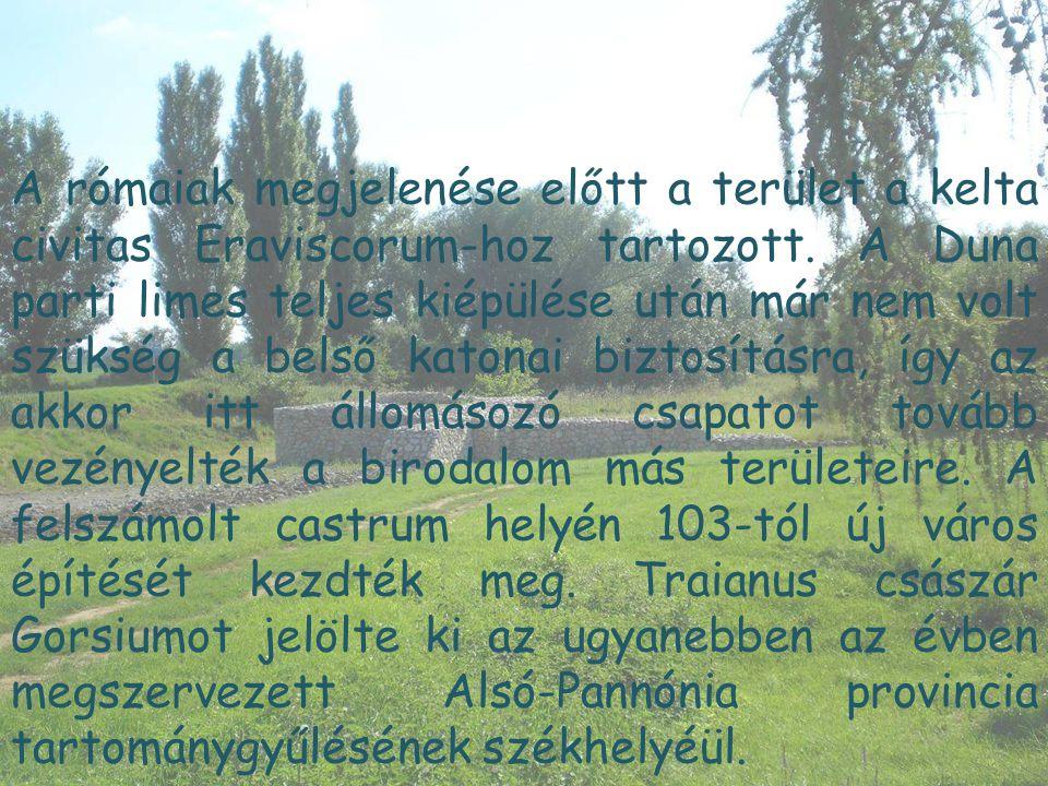 A rómaiak megjelenése előtt a terület a kelta civitas Eraviscorum-hoz tartozott.