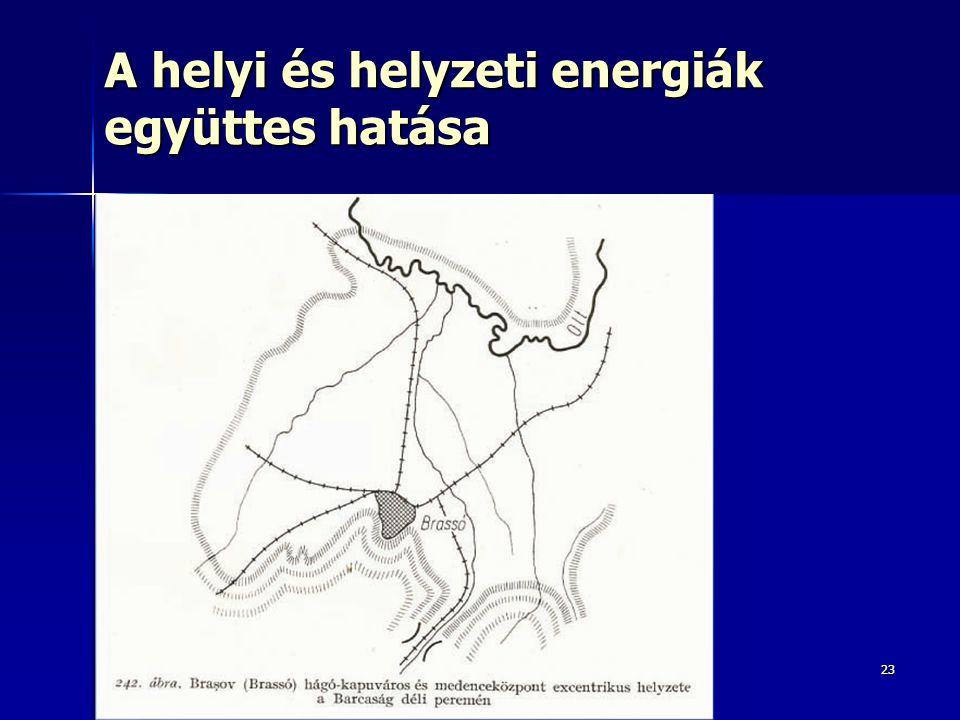 A helyi és helyzeti energiák együttes hatása