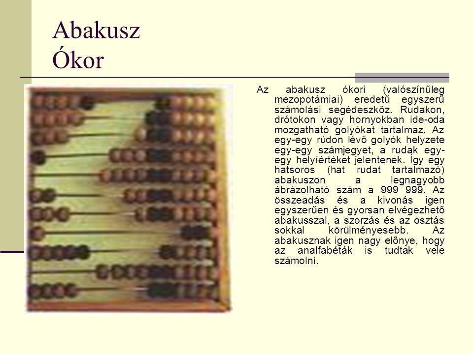 Abakusz Ókor