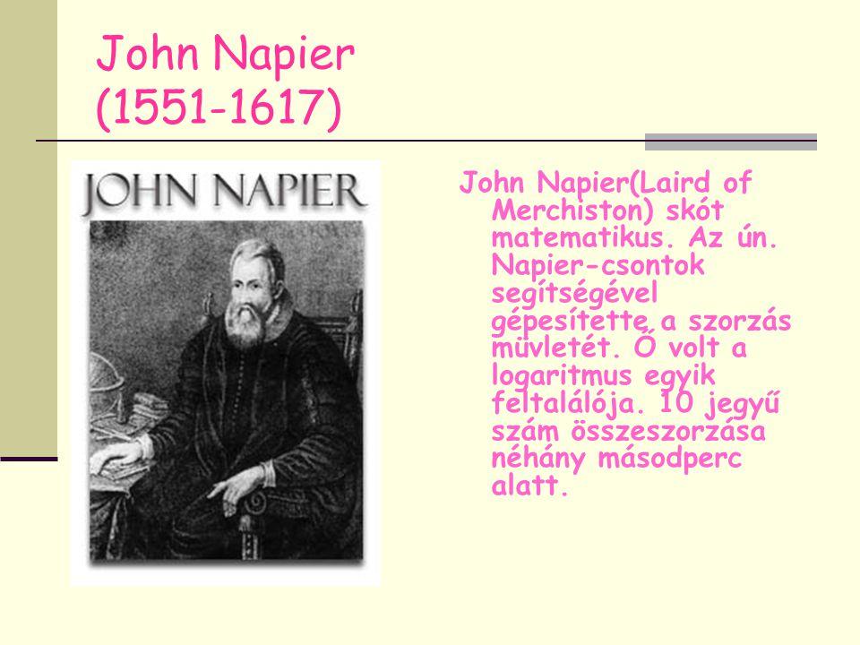 John Napier (1551-1617)