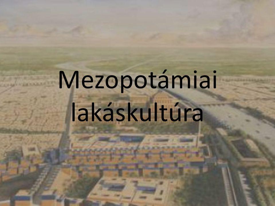 Mezopotámiai lakáskultúra
