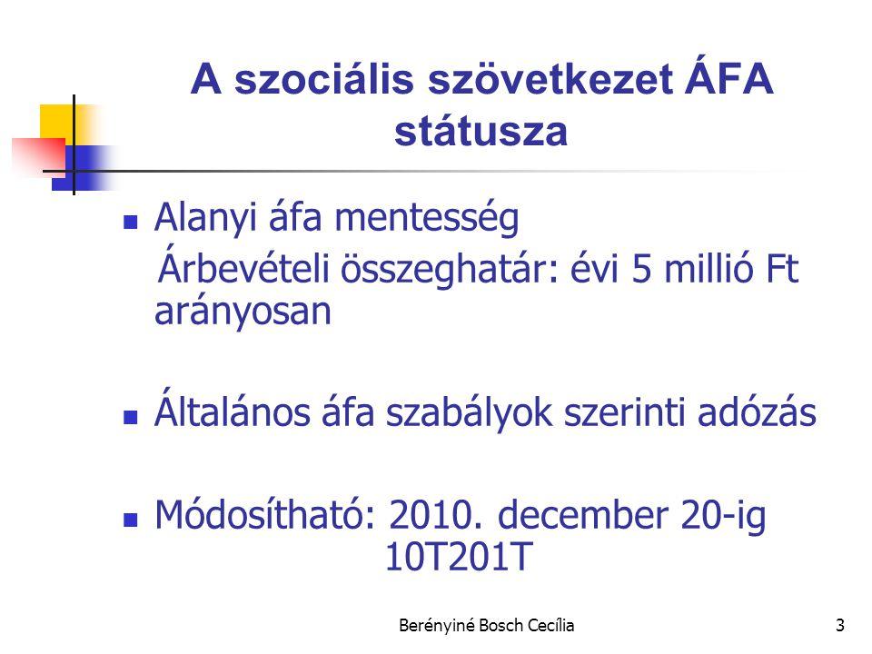 A szociális szövetkezet ÁFA státusza