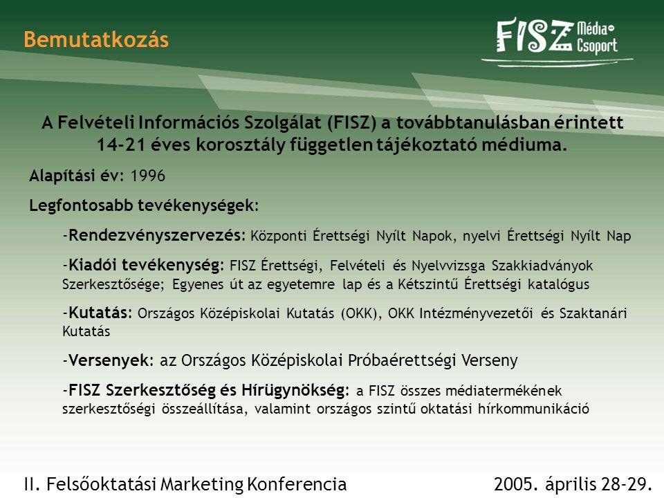 Bemutatkozás A Felvételi Információs Szolgálat (FISZ) a továbbtanulásban érintett 14-21 éves korosztály független tájékoztató médiuma.