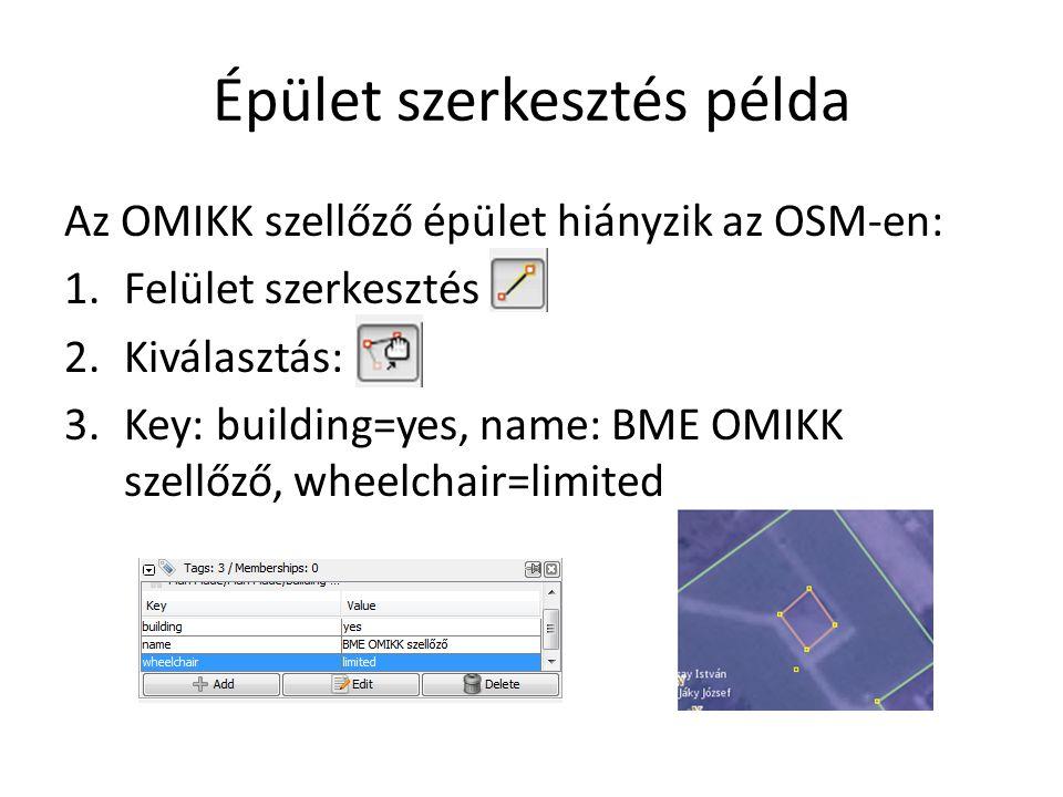 Épület szerkesztés példa