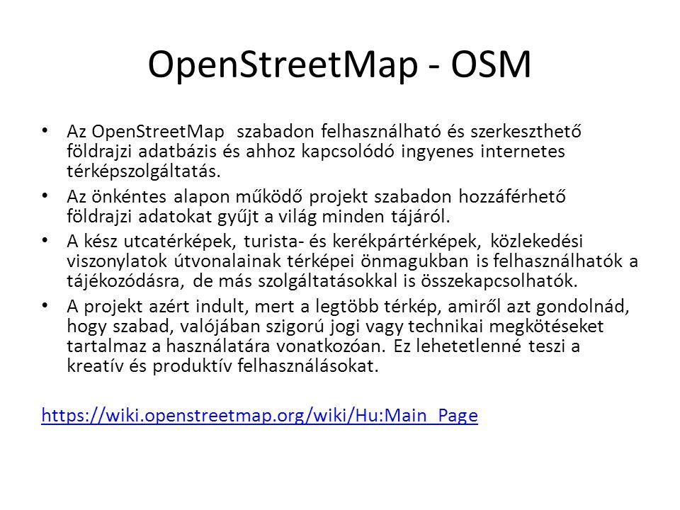 OpenStreetMap - OSM