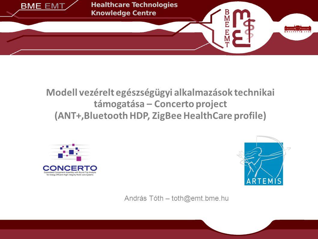(ANT+,Bluetooth HDP, ZigBee HealthCare profile)