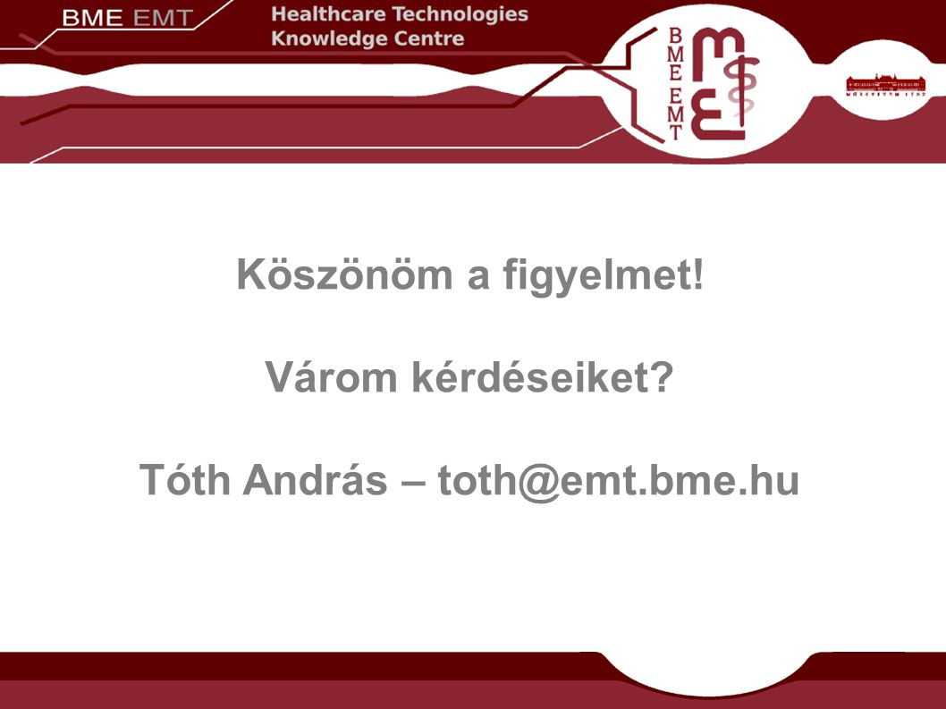 Tóth András – toth@emt.bme.hu
