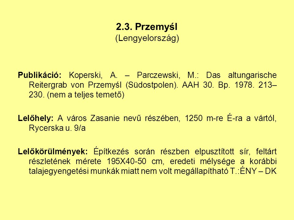 2.3. Przemyśl (Lengyelország)
