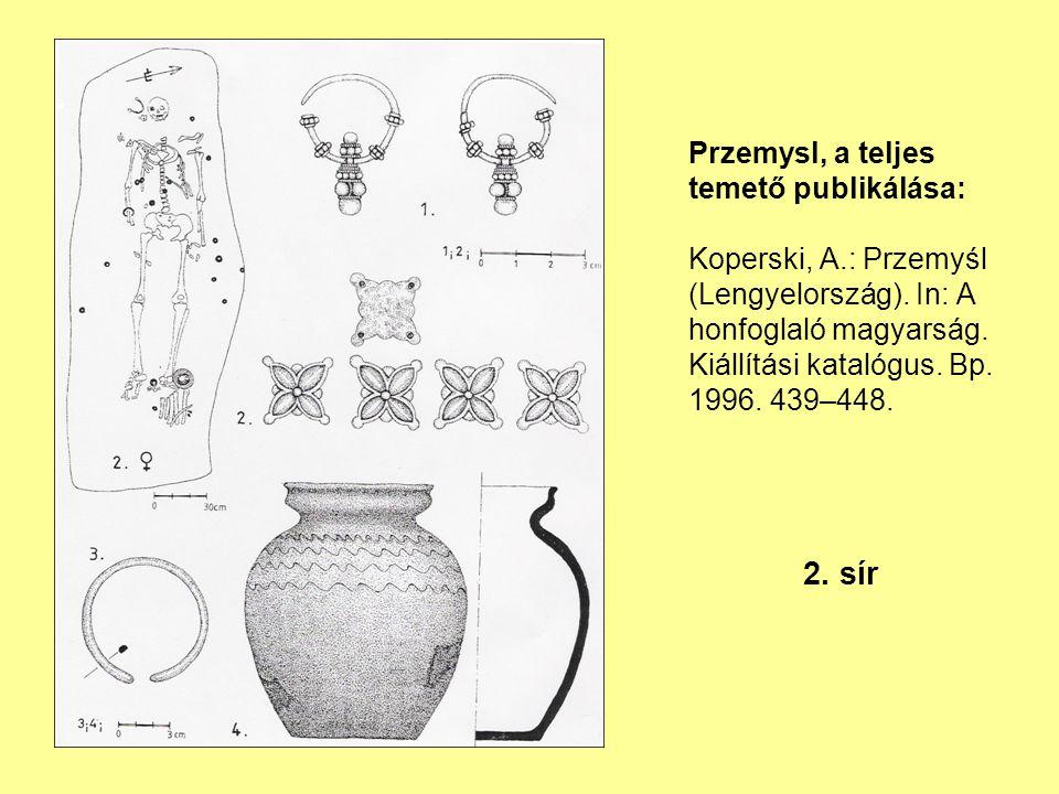 Przemysl, a teljes temető publikálása: Koperski, A