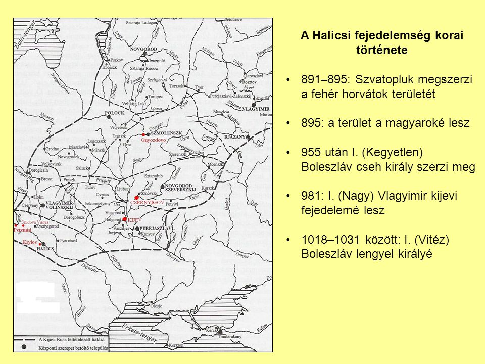A Halicsi fejedelemség korai története