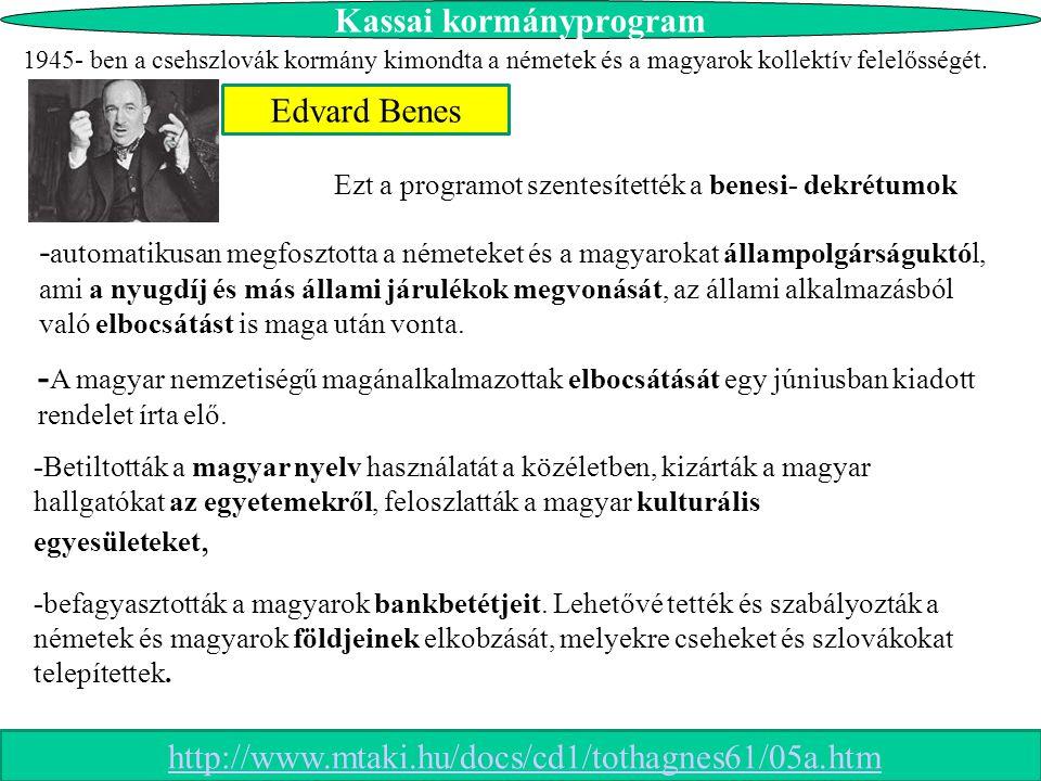 Kassai kormányprogram