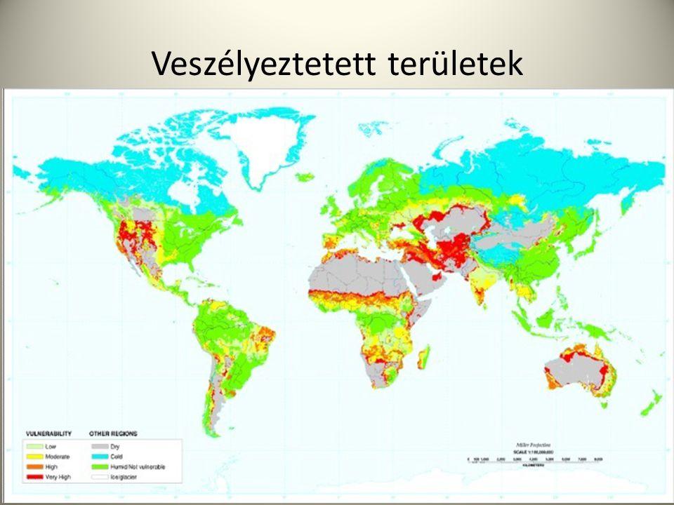 Veszélyeztetett területek