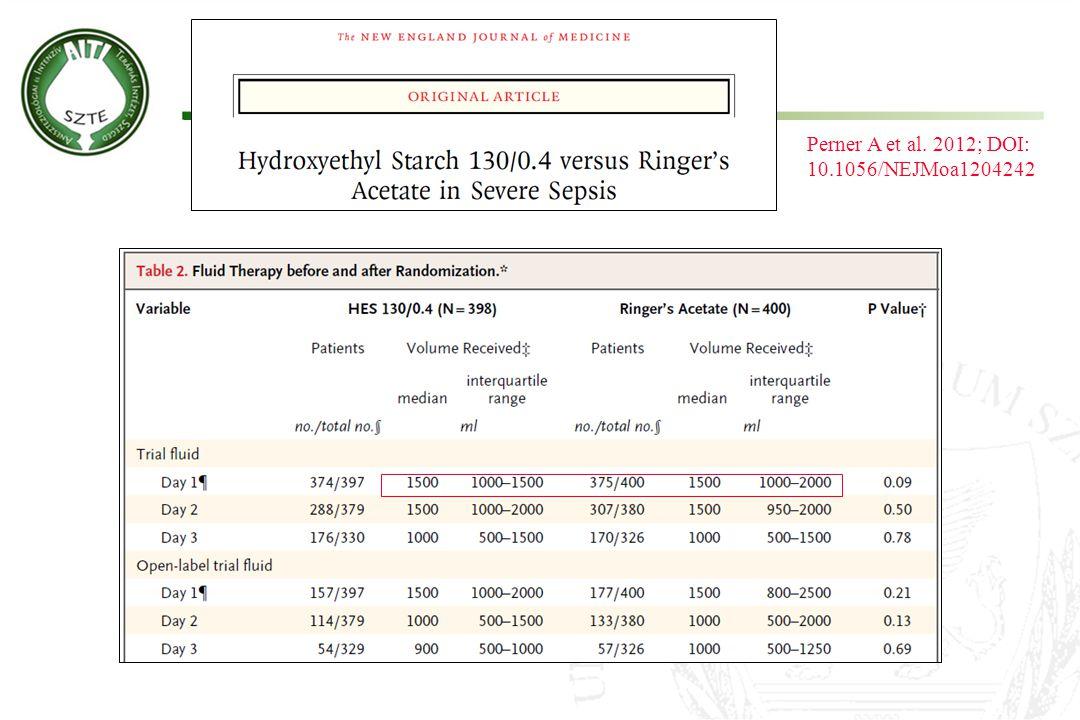 Perner A et al. 2012; DOI: 10.1056/NEJMoa1204242