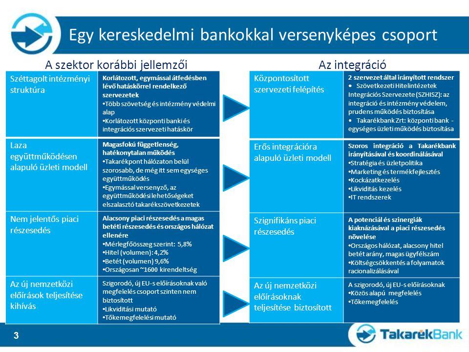 Központosított szervezeti struktúra