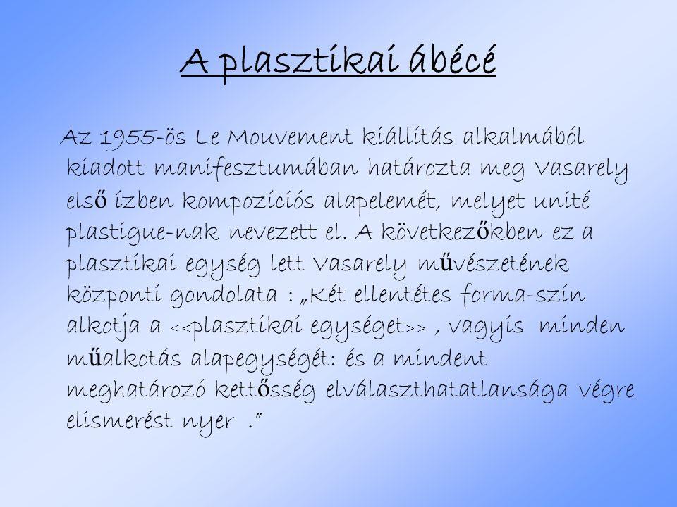A plasztikai ábécé
