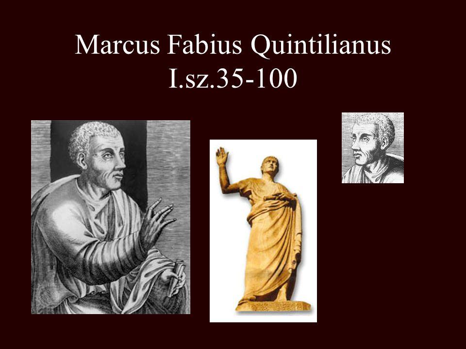Marcus Fabius Quintilianus I.sz.35-100