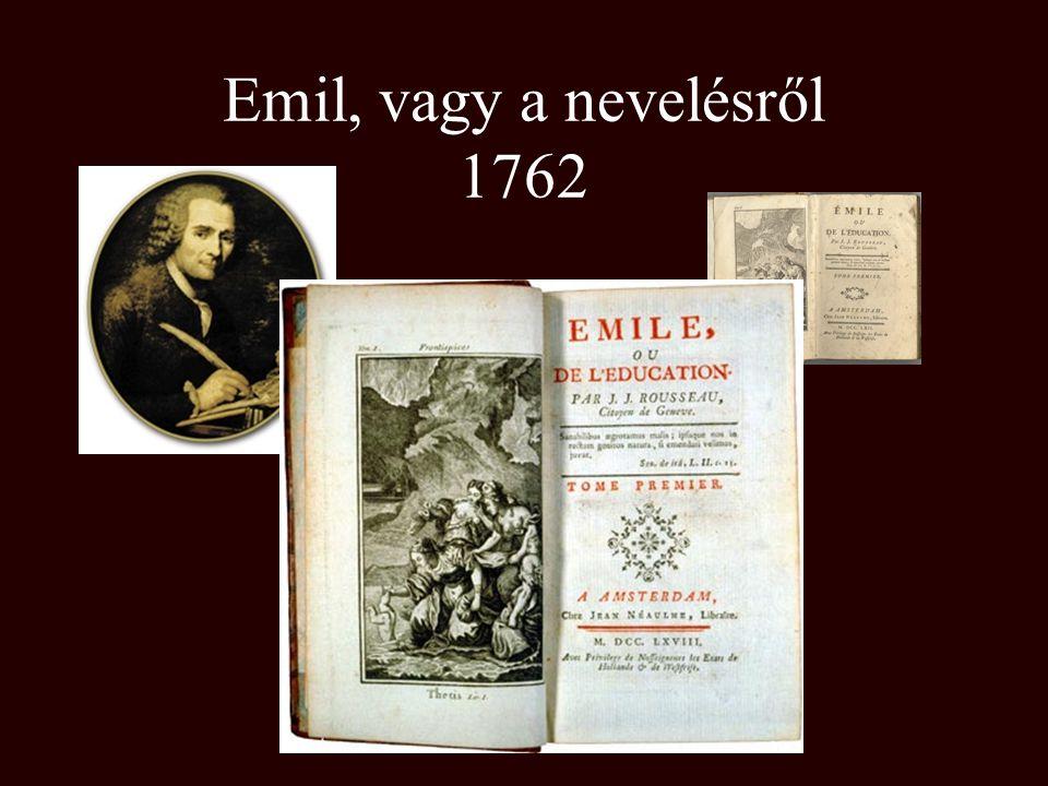 Emil, vagy a nevelésről 1762
