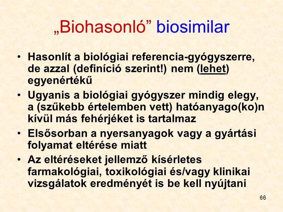 """Biohasonló biosimilar"