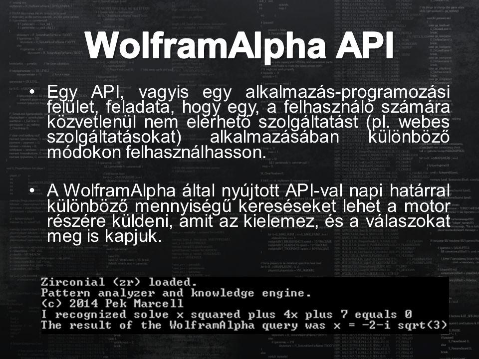 WolframAlpha API