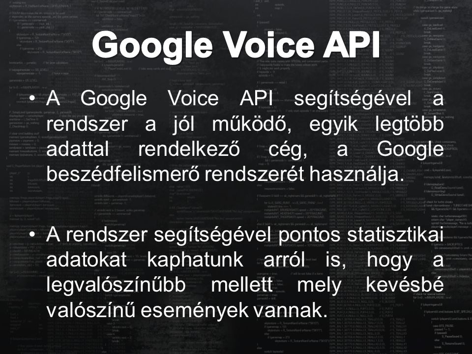 Google Voice API