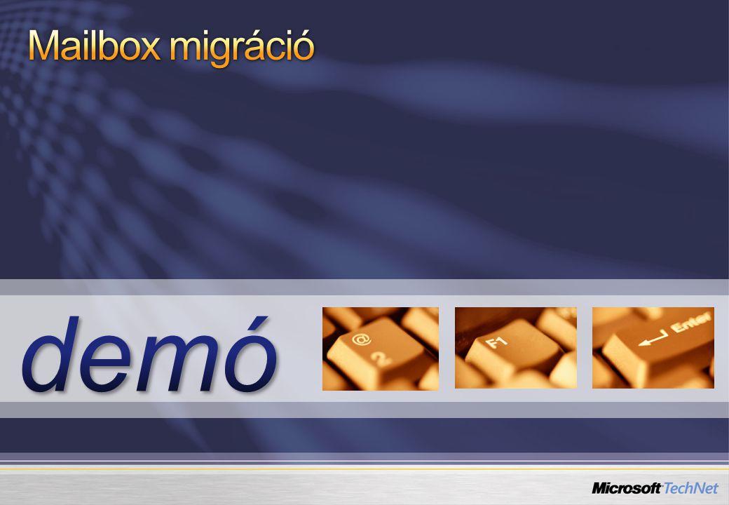 Mailbox migráció demó