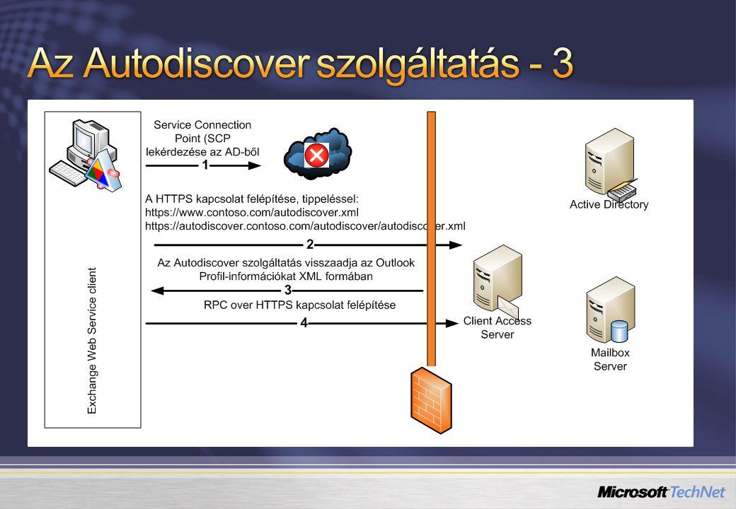 Az Autodiscover szolgáltatás - 3