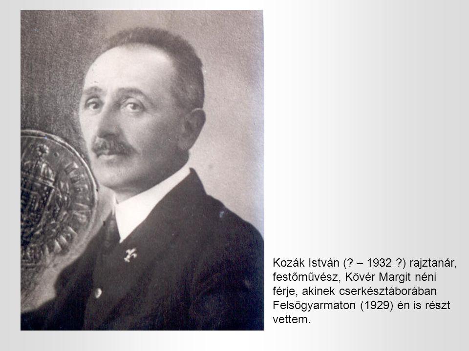 Kozák István (.