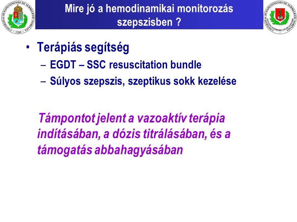 Mire jó a hemodinamikai monitorozás szepszisben