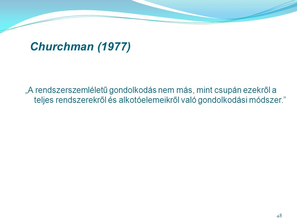 Churchman (1977)