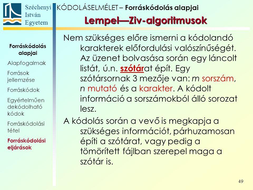 Lempel—Ziv-algoritmusok