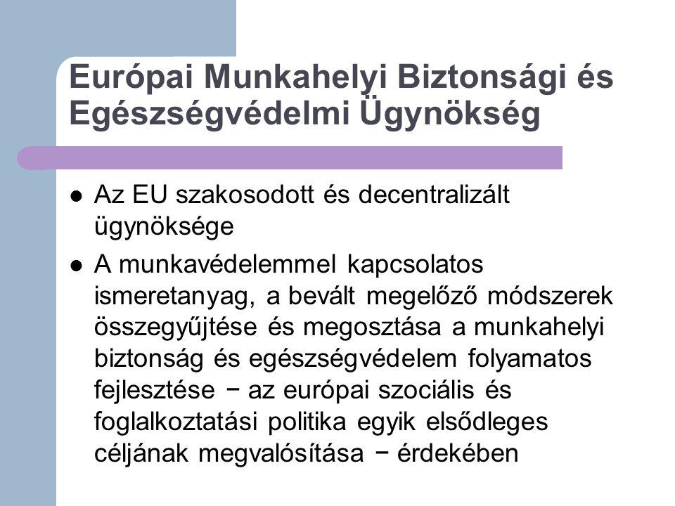 Európai Munkahelyi Biztonsági és Egészségvédelmi Ügynökség