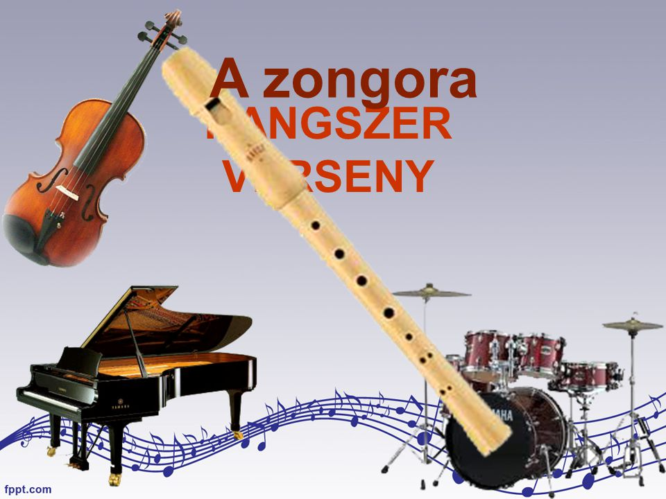 A zongora HANGSZER VERSENY