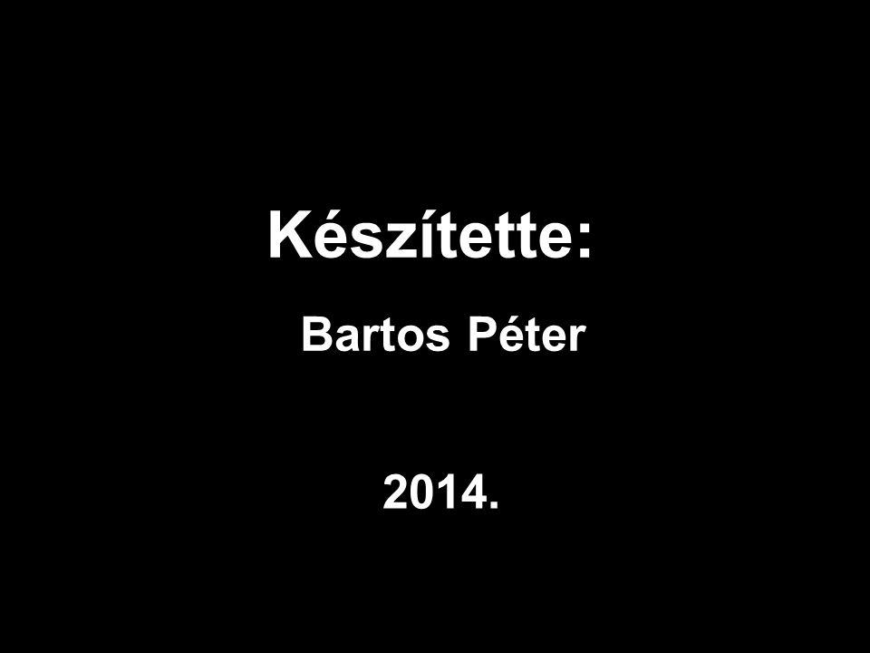 Készítette: Bartos Péter 2014.