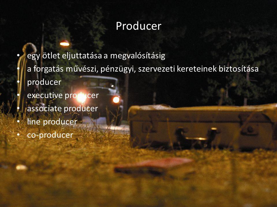 Producer egy ötlet eljuttatása a megvalósításig