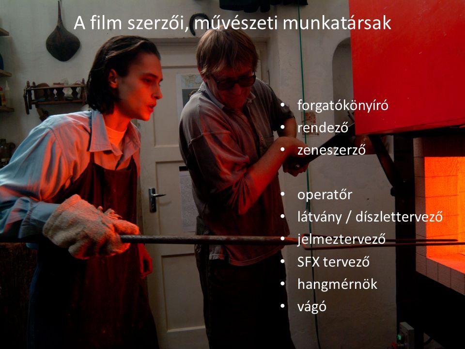 A film szerzői, művészeti munkatársak