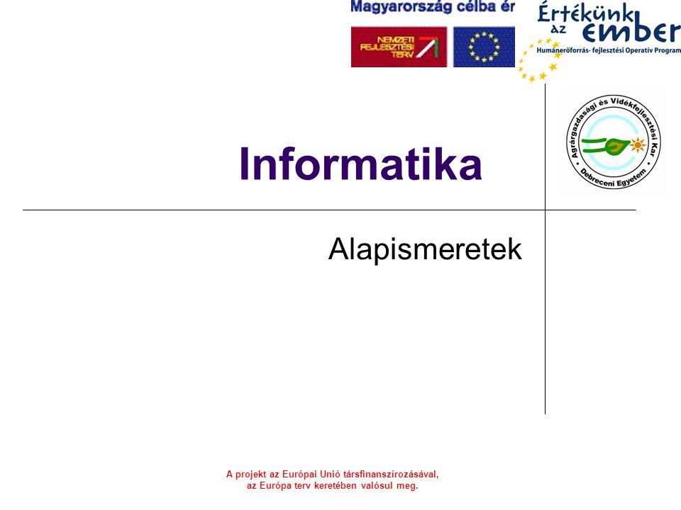 Informatika Alapismeretek