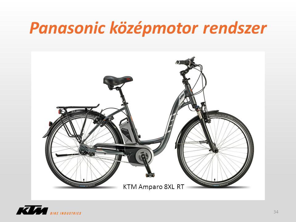 Panasonic középmotor rendszer