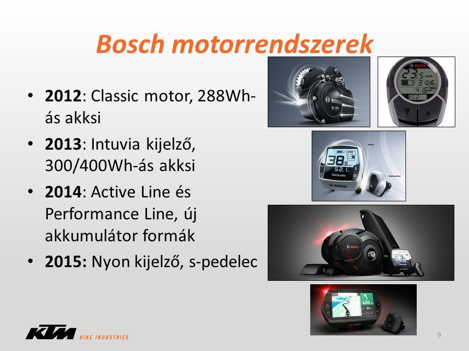 Bosch motorrendszerek