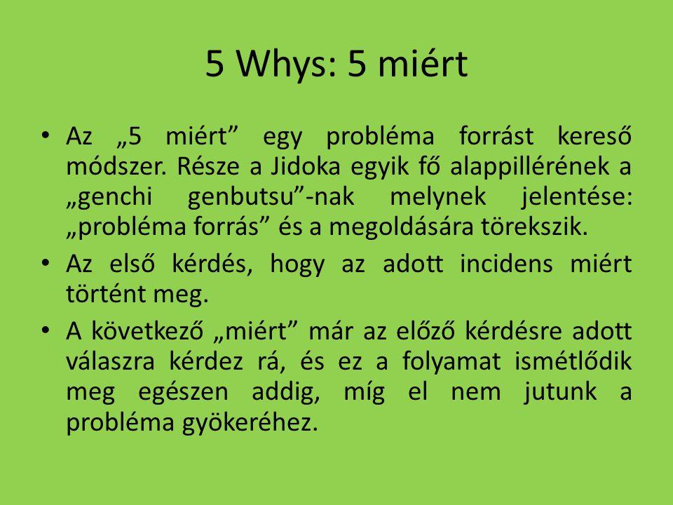 5 Whys: 5 miért