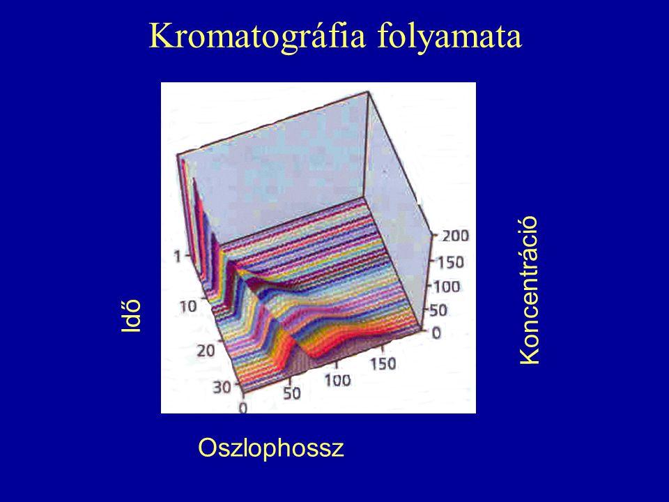 Kromatográfia folyamata