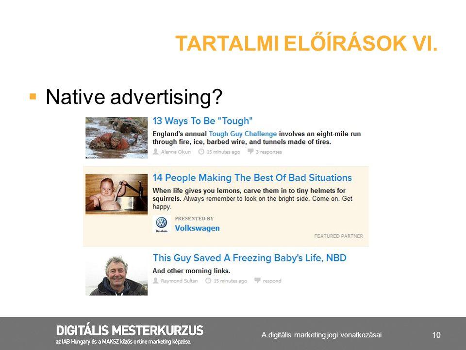 A digitális marketing jogi vonatkozásai