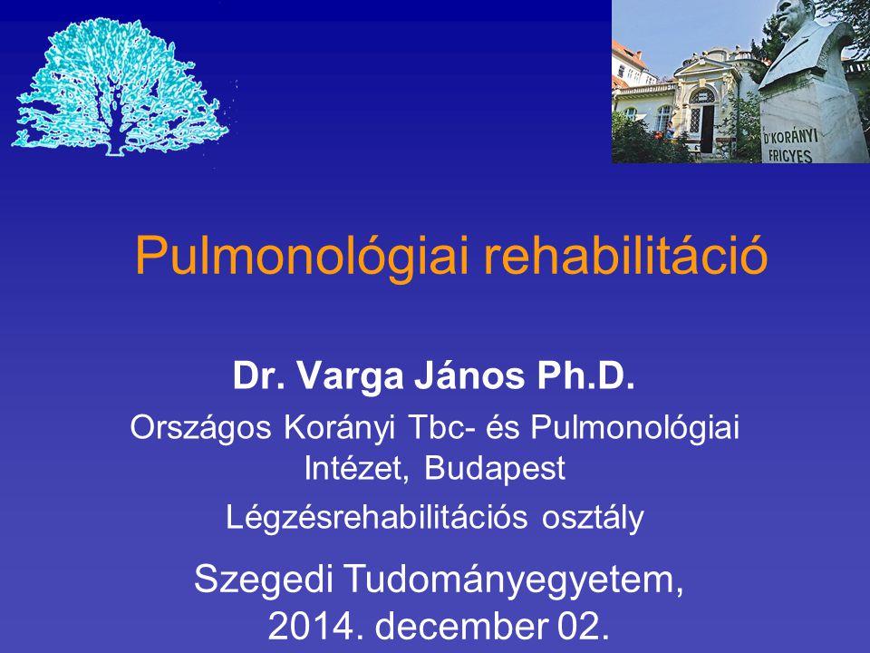 Pulmonológiai rehabilitáció