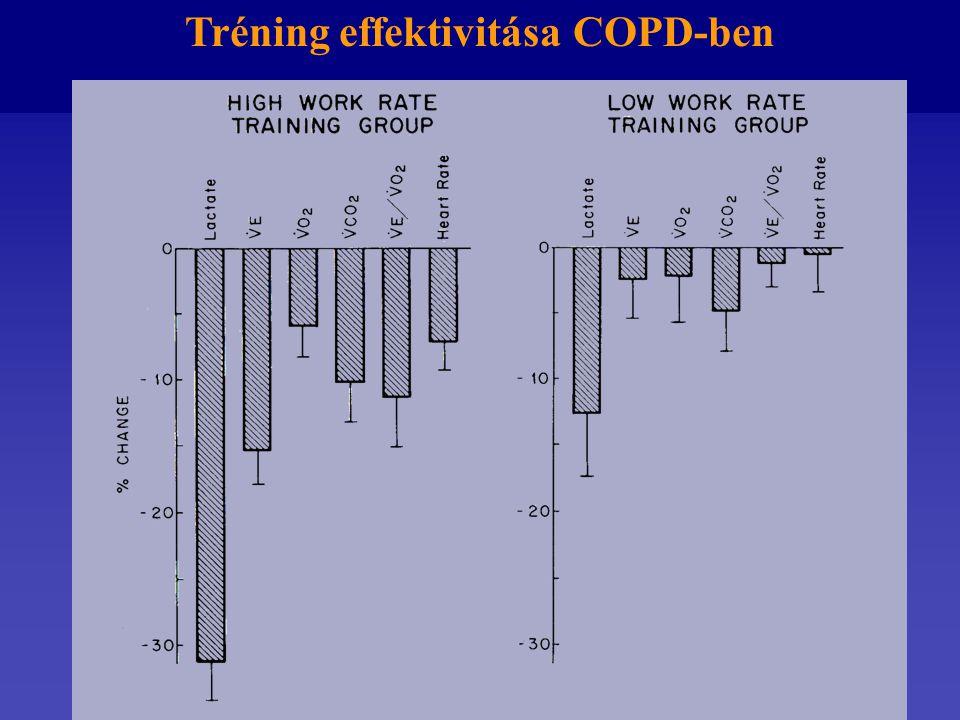 Tréning effektivitása COPD-ben