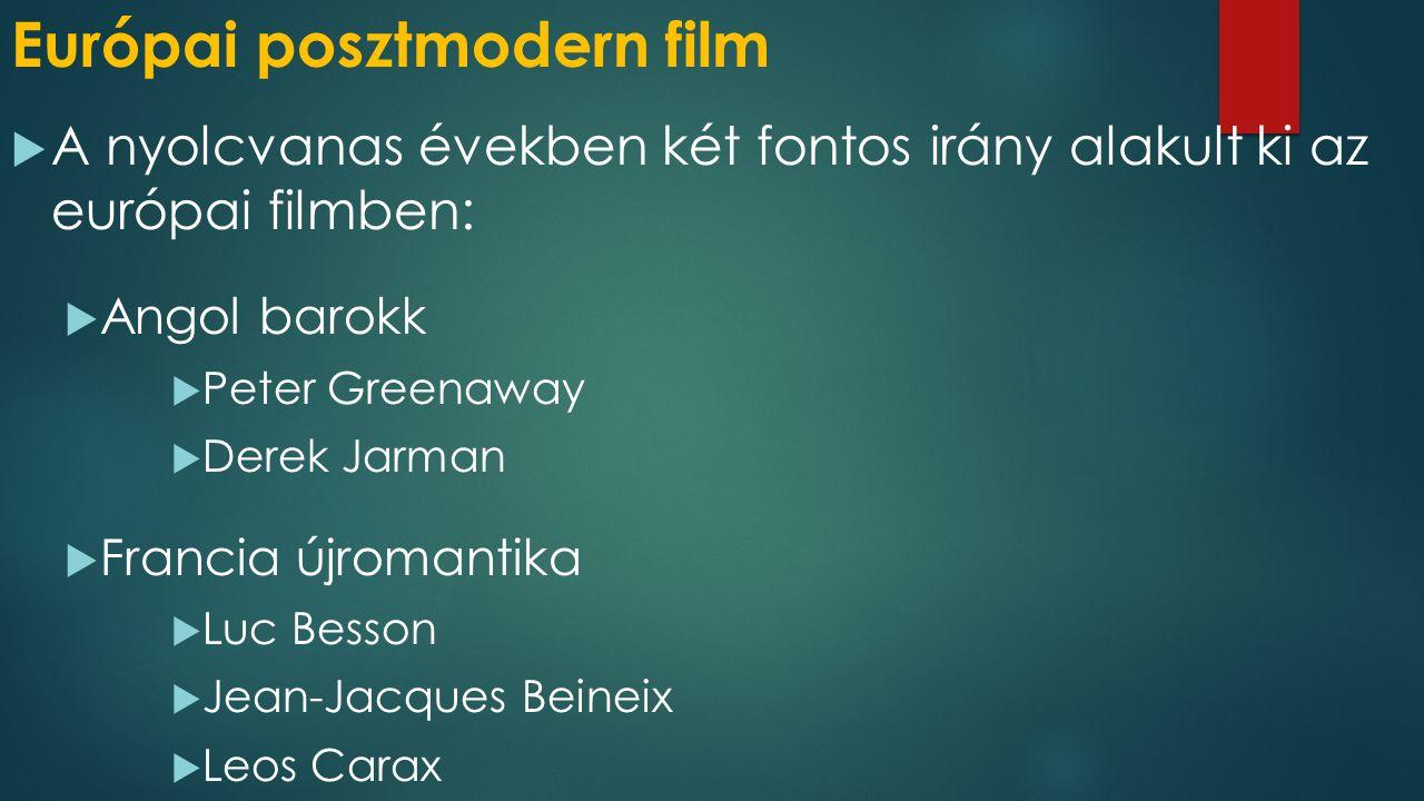 Európai posztmodern film