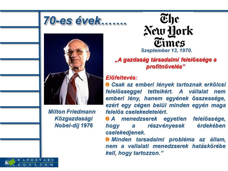 Közgazdasági Nobel-díj 1976