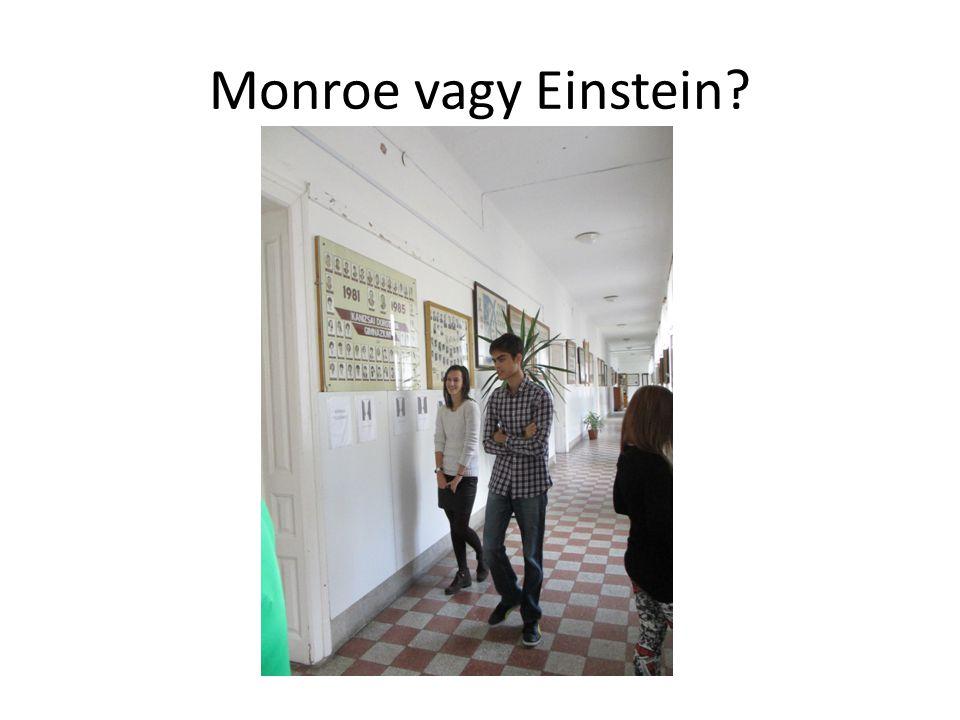 Monroe vagy Einstein