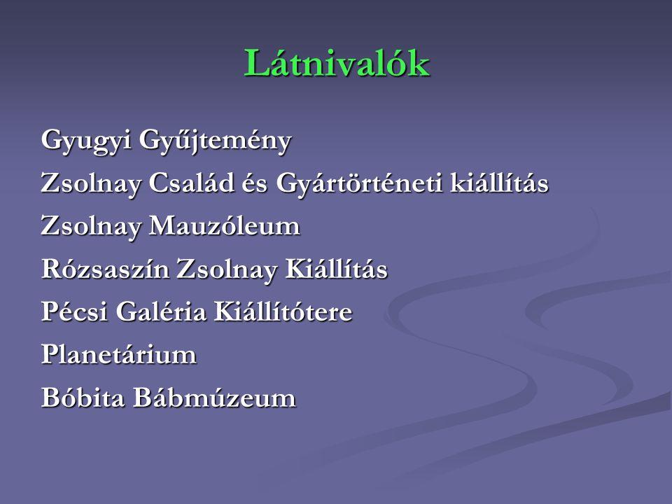 Látnivalók Gyugyi Gyűjtemény Zsolnay Család és Gyártörténeti kiállítás