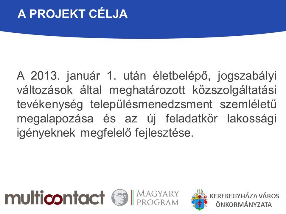A Projekt célja