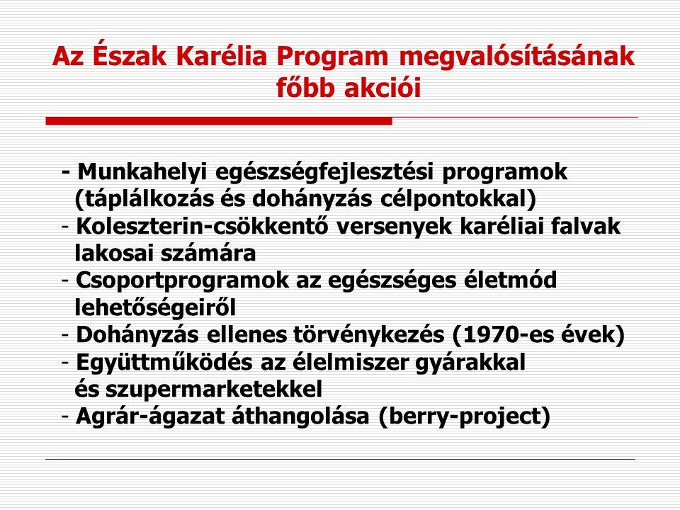 Az Észak Karélia Program megvalósításának