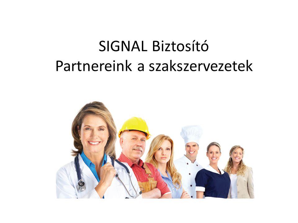 SIGNAL Biztosító Partnereink a szakszervezetek